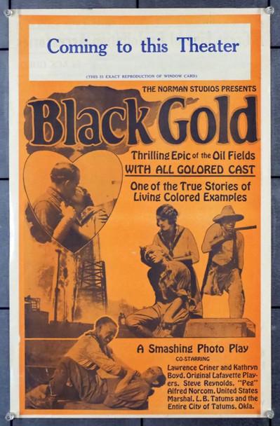 BLACK GOLD (1927) 23703 Norman Film Company Original Press Book  (14x22)  Very Fine