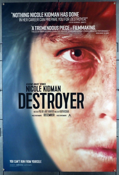 DESTROYER (2018) 28454 Rocket Science Original U.S. One-Sheet Poster (27x40) Rolled  Fine Plus Condition