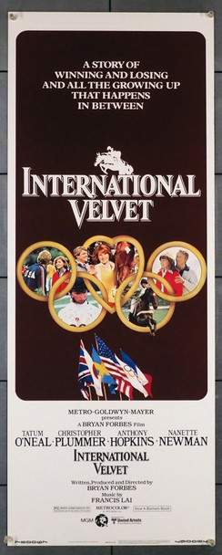 INTERNATIONAL VELVET (1978) 28261 MGM/UA Original Insert Poster (14x36)  Rolled  Very Fine