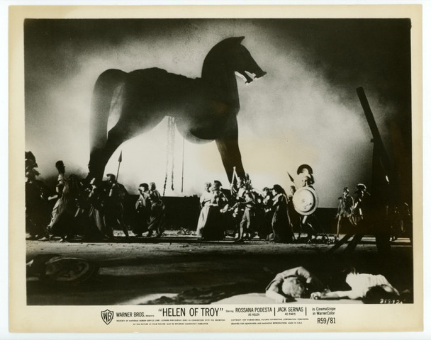 HELEN OF TROY (1956) 22529 Warner Brothers Studio-Issued Gelatin Silver Print (8x10)  Release of 1959  Very Fine Condition