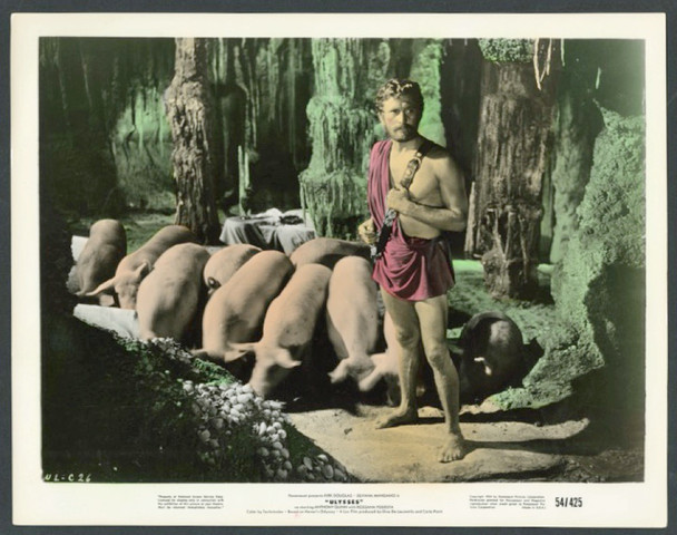 ULYSSES (1954) 28603 Paramount Pictures Original 8x10 Hand Colored Photograph  Very Fine