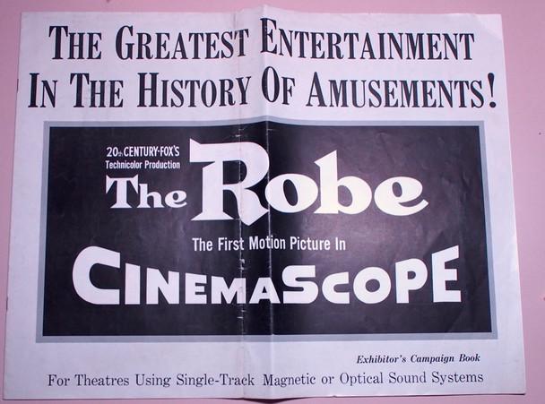 ROBE, THE (1953) 22570 20th Century Fox Original Pressbooks  Three   14x18  Very Good Condition