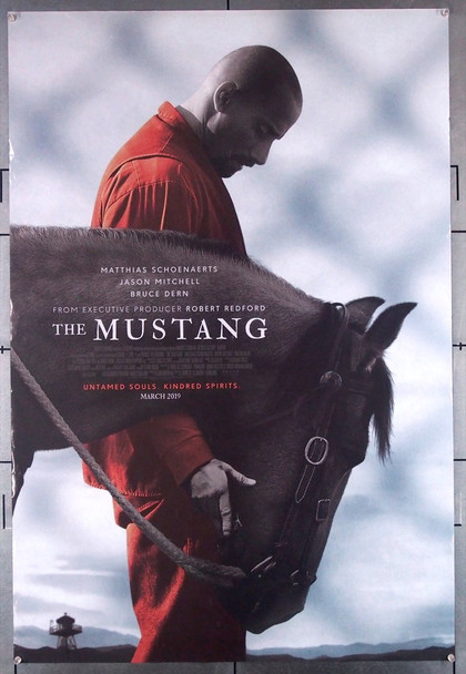 MUSTANG, THE (2019) 28585 Focus Features Original U.S. One-Sheet Poster (27x40) Rolled  Very Fine