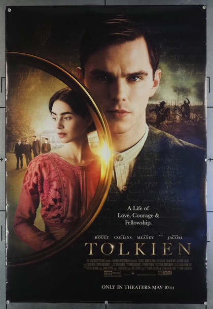 TOLKIEN (2019) 28668   NICHOLAS HOULT as J.R.R. TOLKIEN Fox Searchlight Advance Style B One-Sheet  (27x40)  Rolled  Very Fine