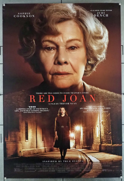 RED JOAN (2018) 28662 Lionsgate Original U.S. One-Sheet Poster (27x40) Single Sided  Gently Used