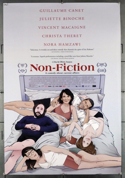 NON-FICTION (2018) 28659 Original U.S. One-Sheet Poster  (27x40)  Single Sided  Very Fine Plus Condition