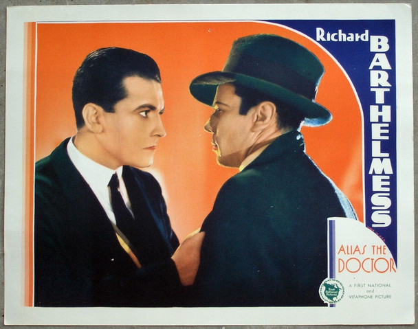 ALIAS THE DOCTOR (1932) 780   RICHARD BARTHELMESS  Original First National Pictures U.S. Scene Lobby Card  Very Fine Plus Condition