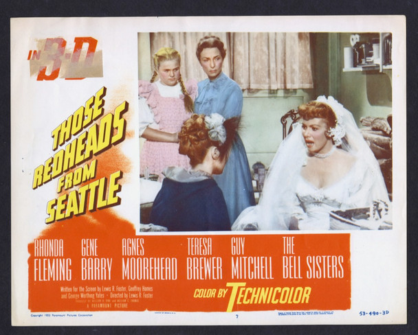 REDHEADS FROM SEATTLE, THOSE (1953) 2587