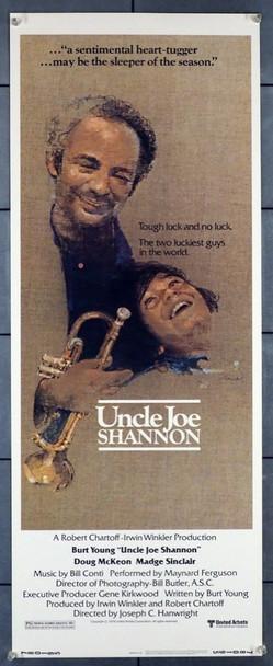 UNCLE JOE SHANNON (1978) 28290 United Artists Original U.S. Insert Poster (14x36)  Rolled  Very Fine