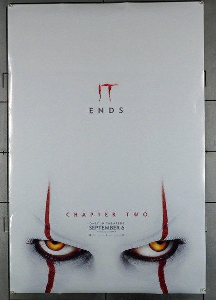 IT CHAPTER TWO (2019) 28688    Warner Brothers Original U.S. Teaser or Advance Poster (27x40) Rolled  Fine Plus to Very Fine
