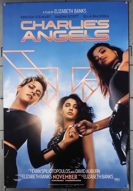 CHARLIE'S ANGELS (2019) 28686 Columbia Pictures Original U.S. One-Sheet Poster (27x40)  Rolled  Very Fine