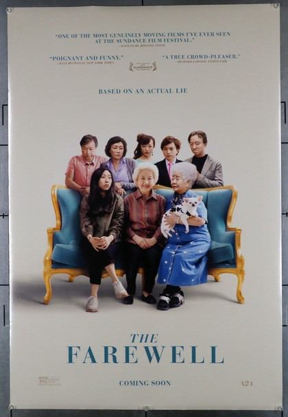 FAREWELL, THE (2019) 28687 A24 Original U.S. One-Sheet Poster (27x40) Rolled  Very Fine Condition  Double Sided
