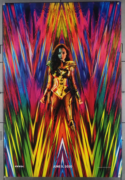 WONDER WOMAN 1984 (2020) 28693 Warner Brothers Original U.S. One-Sheet Poster (27x40)  Rolled  Very Fine