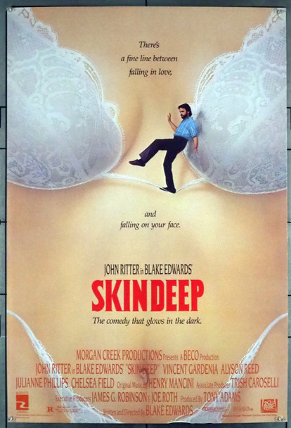 SKIN DEEP (1989) 501 20th Century Fox Original U.S. One-Sheet Poster (27x41)  Rolled  Fine Condition