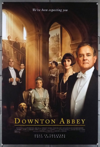 DOWNTON ABBEY (2019) 28765 Focus Features Original U.S. One-Sheet Poster  Advance Style  27x40  Double Sided  Very Fine