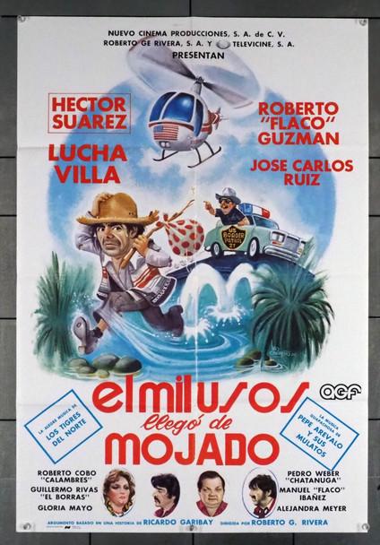 MIL USOS LLEGO DE MOJADO, EL (1984) 28772 Original Mexican 24x36 Poster  Folded  Very Fine Condition