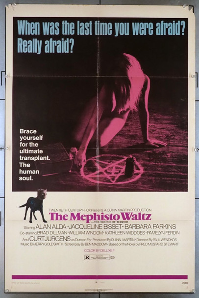 MEPHISTO WALTZ, THE (1971) 3530 20th Century Fox Original U.S. One-Sheet Poster (27x41) Folded  Very Good Plus Condition