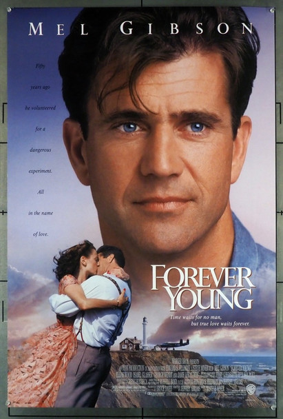 FOREVER YOUNG (1992) 5007 Warner Brothers Original U.S. One-Sheet Poster (27x40) Rolled  Very Fine Condition
