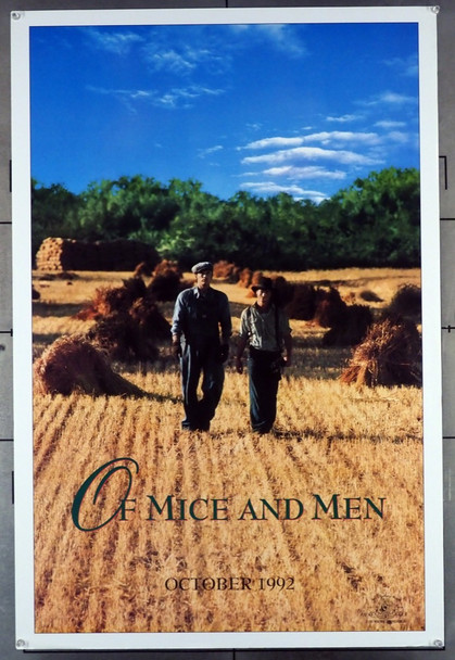OF MICE AND MEN (1992) 4659 MGM-UA Original One-Sheet Poster (27.25 x 41) Rolled  Very Fine Condition