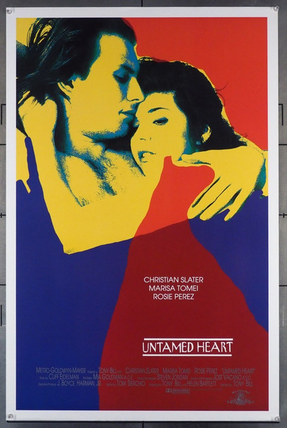 UNTAMED HEART (1992) 5133 MGM Original U.S. One Sheet Poster (27x41) Rolled  Fine Plus Condition