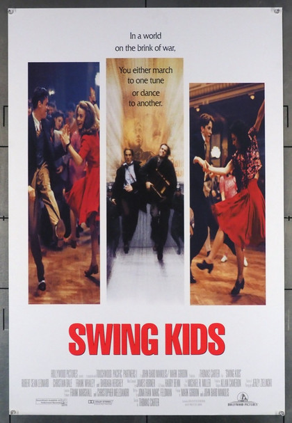 SWING KIDS (1993) 5124 Hollywood PIctures Original U.S. One-Sheet Poster  (27x40)   Double Sided   Fine Plus Condition