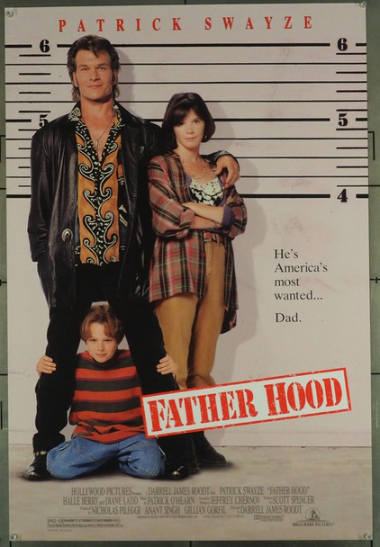 FATHER HOOD (1993) 5324 Hollywood Pictures U.S. One-Sheet Poster (27x41) Rolled  Very Fine