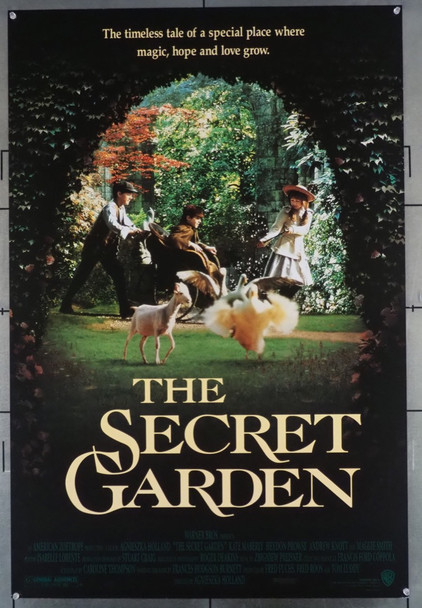 SECRET GARDEN, THE (1993) 5325 Warner Brothers Original U.S. One-Sheet Poster (27x41) Rolled  Very Fine Condition