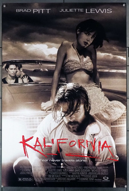 KALIFORNIA (1993) 5328 Gramercy Pictures Original U.S. One-Sheet Poster (27x41)  Rolled  Very Fine