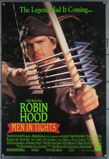 ROBIN HOOD: MEN IN TIGHTS (1993) 5332 20th Century Fox Original U.S. One-Sheet Poster (27x41) Rolled  Very Fine
