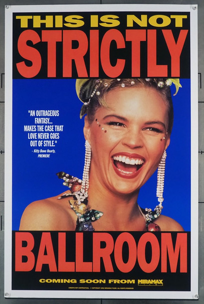 STRICTLY BALLROOM (1992) 5318 Original U.S. One-Sheet Poster (27x41) Rolled  Very Fine Condition