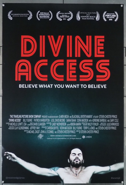 DIVINE ACCESS (2015) 26372 Freestyle Digital Media Original U.S. One-Sheet Poster (27x40)  Rolled