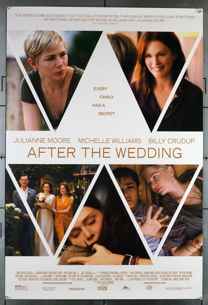 AFTER  THE WEDDING (2019) 28777 Original U.S. One-Sheet Poster (27x40) Rolled  Very Fine Condition