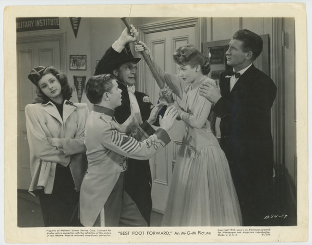 BEST FOOT FORWARD (1943) 28828 MGM issued Gelatin Silver Print (8x10) Theater Used  Average Good Condition