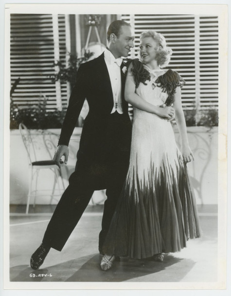 GAY DIVORCEE, THE (1934) 28832  Gelatin Silver Print   Issued for TV Gelatin Silver Print (8x10)  Fine Condition  FRED ASTAIRE   GINGER ROGERS