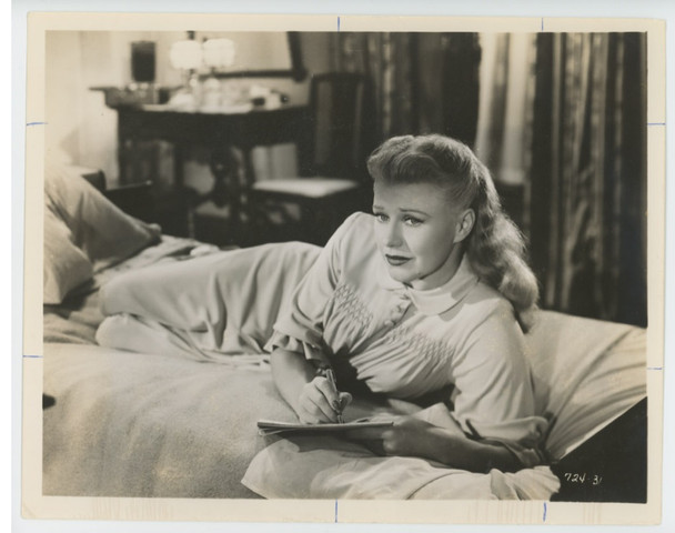 PERFECT STRANGERS (1950) 28842   GINGER ROGERS Gelatin Silver Print (8x10)  Ginger Rogers
