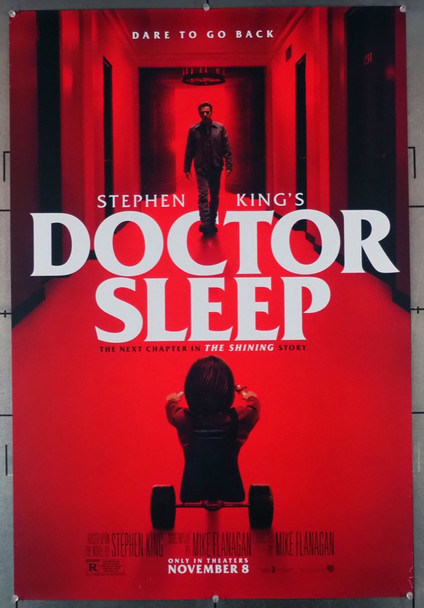 DOCTOR SLEEP (2019) 28864    Warner Brothers Original U.S. One-Sheet Poster (27x40) Double Sided  Never Folded