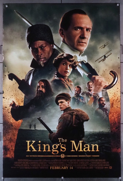 KING'S MAN, THE (2020) 28870 20th Century Fox Original U.S. One-Sheet Poster (27x40) Rolled  Fine Plus Condition