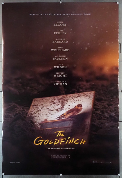 GOLDFINCH, THE (2019) 28866   Warner Brothers Original U.S. One-Sheet Poster (27x40) Rolled  Fine Plus Condition