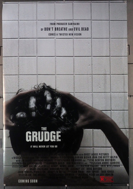 GRUDGE, THE (2020) 28867    Film Directed by NICHOLAS PESCE Original Screen Gems One-Sheet Poster (27x40) Rolled  Fine Plus Condition