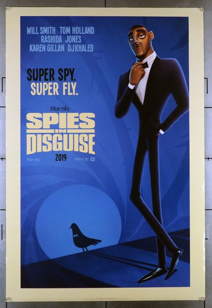 SPIES IN DISGUISE (2019) 28564    20th Century Fox Original U.S. One-Sheet Poster (Advance Style) Rolled  Very Fine Condition