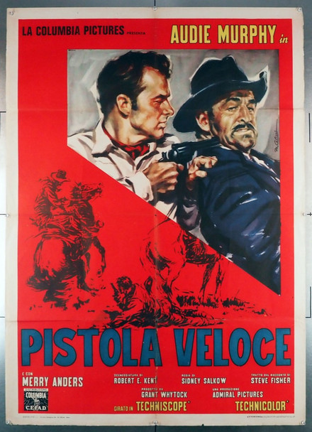 QUICK GUN, THE (1964) 28908 Original Italian 39x55 Poster  Folded   Very Good Condition  Theater-Used