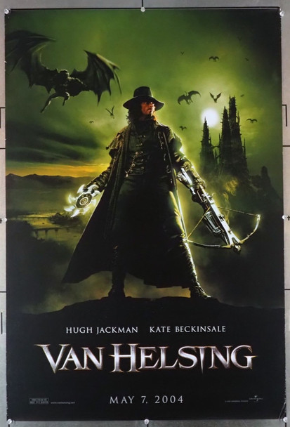 VAN HELSING (2004) 28925   Hugh Jackman Movie Poster Universal Pictures Original U.S. Advance One-Sheet Poster (27x40) Double Sided  Very Good, rolled, condition