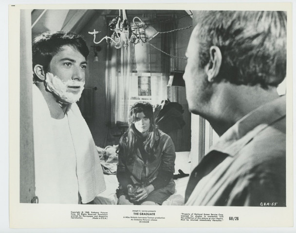 GRADUATE, THE (1967) 28723  Dustin Hoffman Photograph  Very Fine Gelatin Silver Print (8x10) Original Studio Photograph  Very Fine Condition