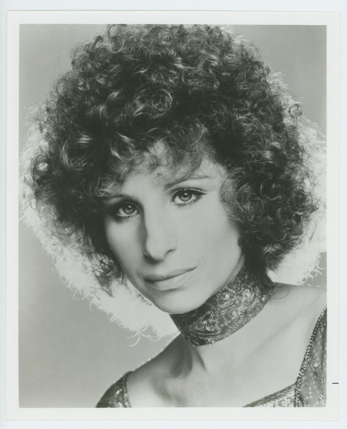 STAR IS BORN, A (1977) 19324  Barbra Streisand Publicity Head Shot Original U.S. Gelatin Silver Print  8x10