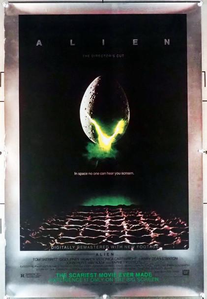 ALIEN (1979) 28916 20th Century Fox Origina 25th Anniversary Re-release One-Sheet Poster  Fine Plus Condition