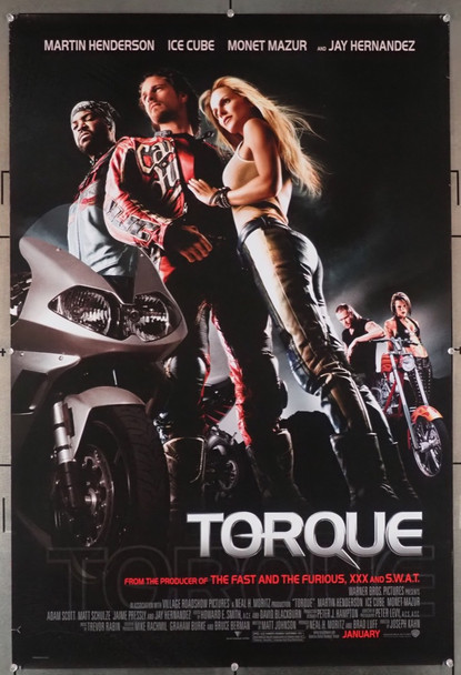 TORQUE (2004) 28923 Warner Brothers Original U.S. One-Sheet Poster (27x41) Rolled  Fine Condition