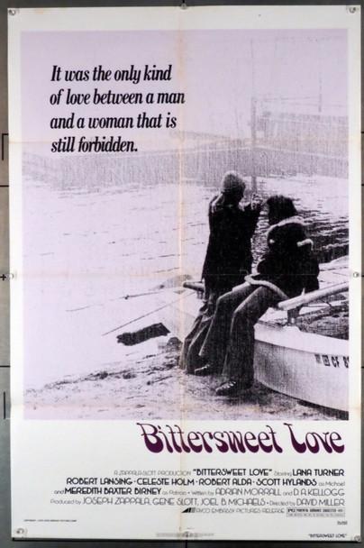 BITTERSWEET LOVE (1976) 3613 Avco Embassy Original U.S. One-Sheet Poster (27x41) Folded  Good Condition