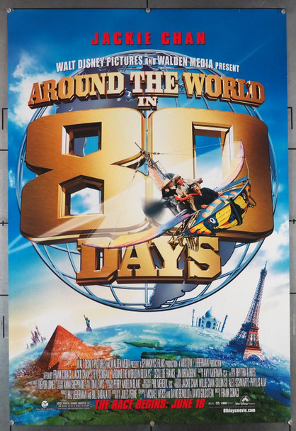 AROUND THE WORLD IN 80 DAYS (2004) 28917 Walt Disney Pictures Original U.S. One-Sheet Poster (27x40) Rolled  Double-Sided