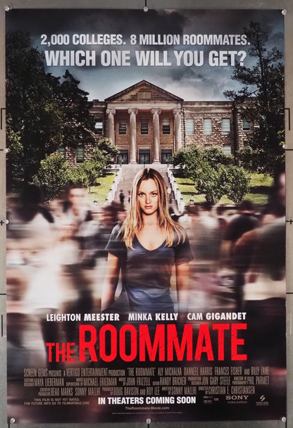ROOMATE, THE (2011) 28956 Screen Gems Original U.S. One-Sheet Poster (27x40)  Rolled  Fine Plus Condition