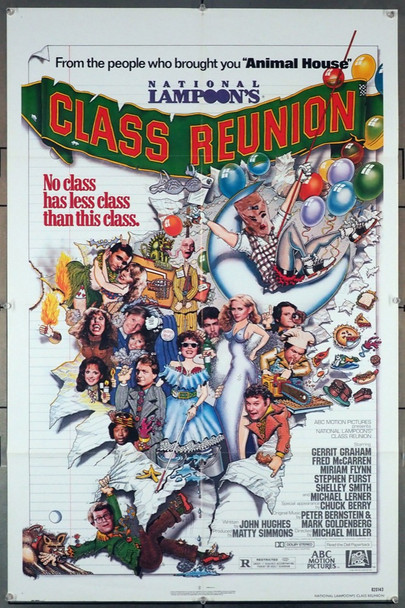 CLASS REUNION (1982) 4196 20th Century Fox Original U.S. One-Sheet Poster (27x41) Folded  Fine Plus Condition